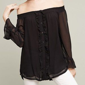 Anthropologie Taleen Off-The Shoulder Blouse